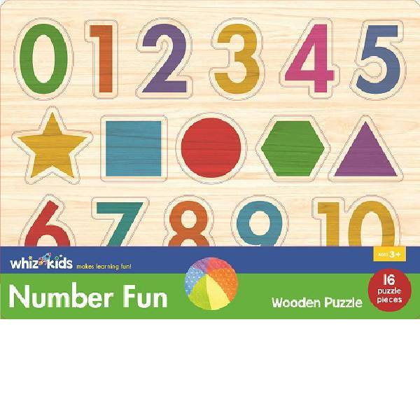 Whiz Kids Number Wooden Puzzle