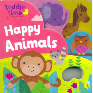 Toddle Time Happy Animals Board Book