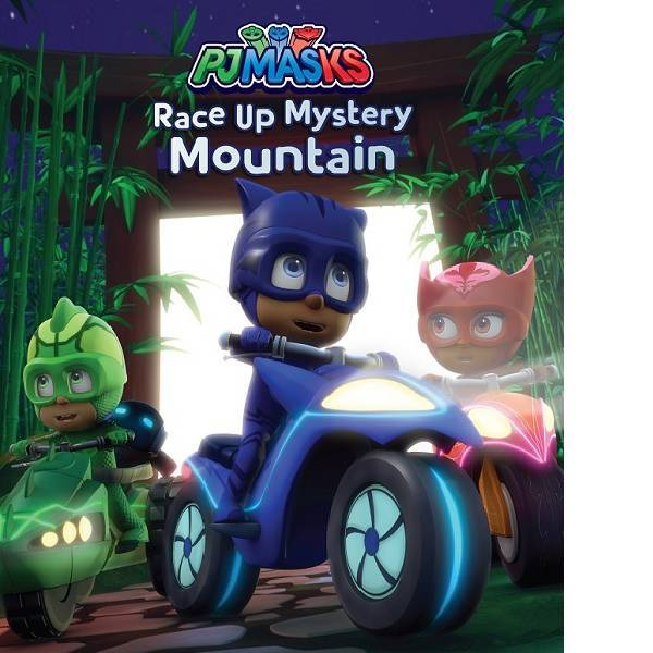 PJ Mask Race Up Mystery Mountain  Picture Storybook