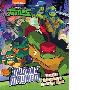 Rise of the Teenage Mutant Ninja Turtles Deluxe Colouring