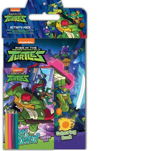 Rise of the Teenage Mutant Ninja Turtles Activity Pack