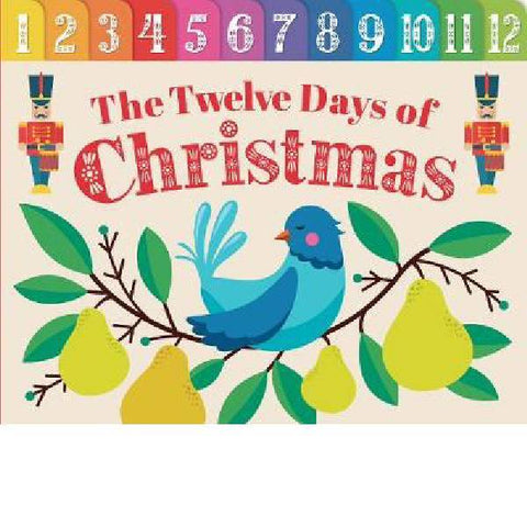 12 Days of Christmas Tabbed Board