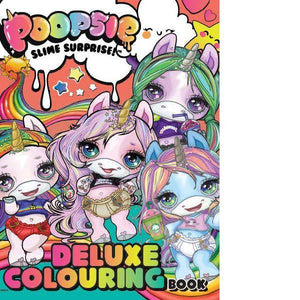 Poopsie Deluxe Colouring Book