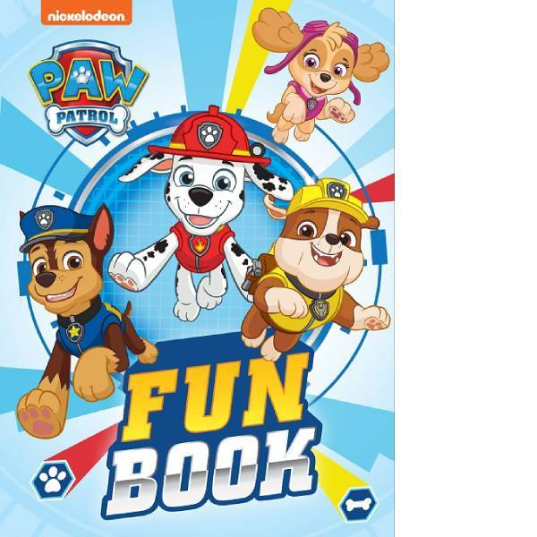 Paw Patrol Fun Book