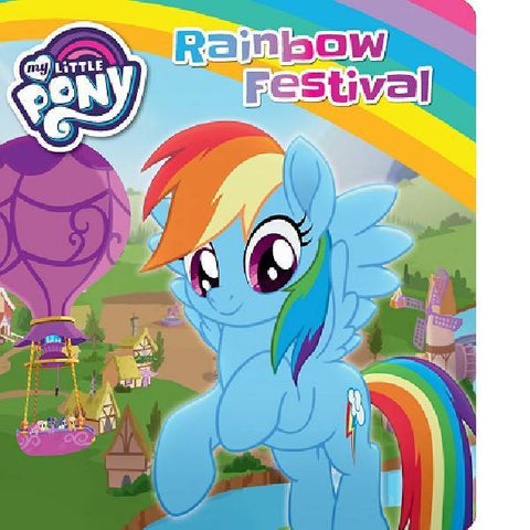 My Little Pony Rainbow Festival Board