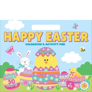 Happy Easter Giant Activity Pad