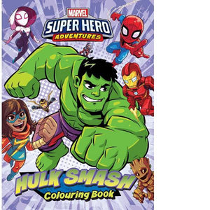 Marvel Superhero Adventures  Hulk Smash Colouring Book