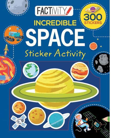 Space Sticker Factivity Activity Book