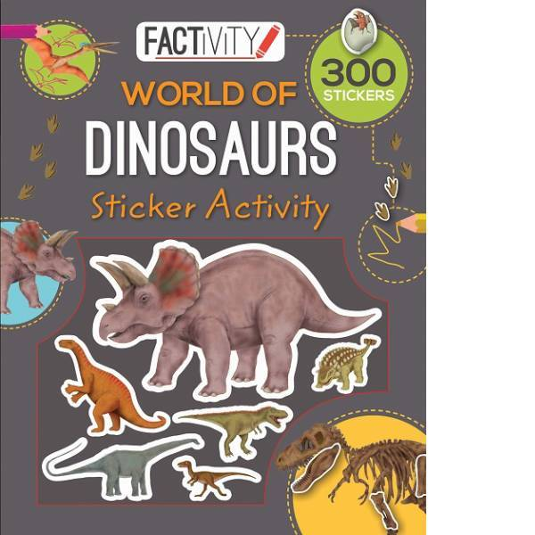 Dinosaurs Factivity Stickers Book