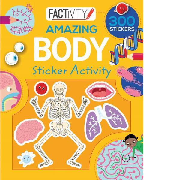 Amazing Body Factivity Sticker Book