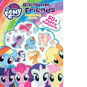 My Little Pony Puffy Sticker  Colouring Book