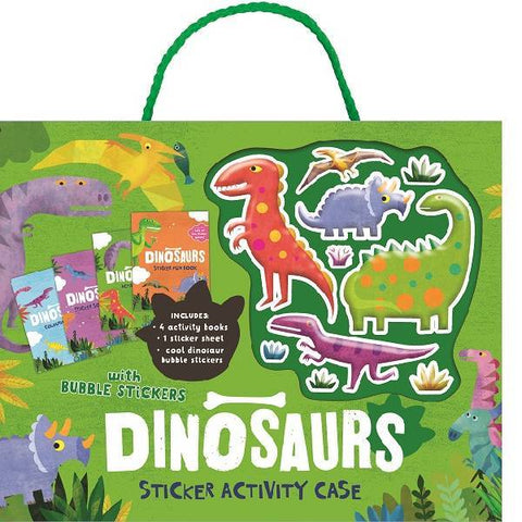 Dinosaur Bubble Sticker Activity Case