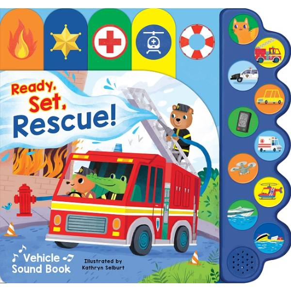 Ready  Set Emergency Vehicles Sound Book