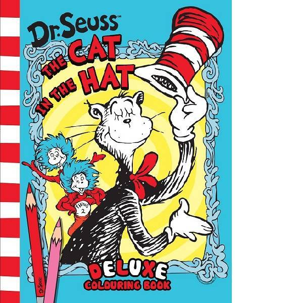 Dr Seuss Cat In The Hat Deluxe Colouring