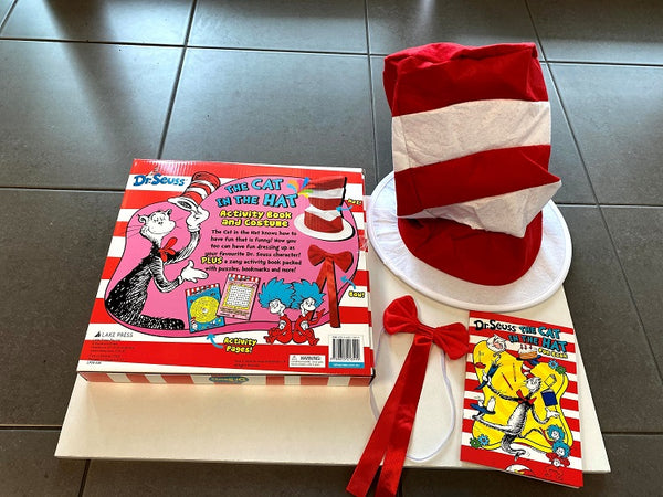 Dr Seuss Cat In The Hat Costume Pack