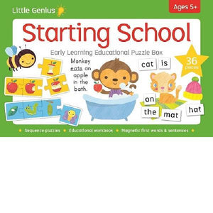 Little Genius Starting School Puzzle Box