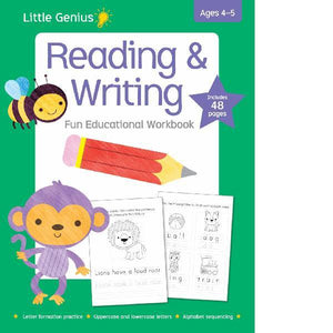 Little Genius Reading & Writing Fun  4-5 yrs