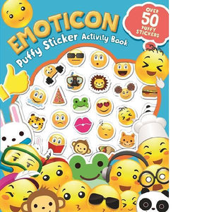 Emoticon Puffy Sticker