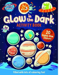 Glow in Space Sticker Activity Book