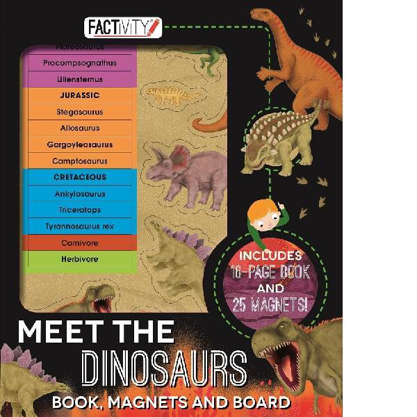 Meet the Dinosaurs Factivity Folder