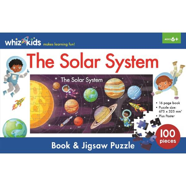 Whiz Kids The Solar System Jigsaw Boxset