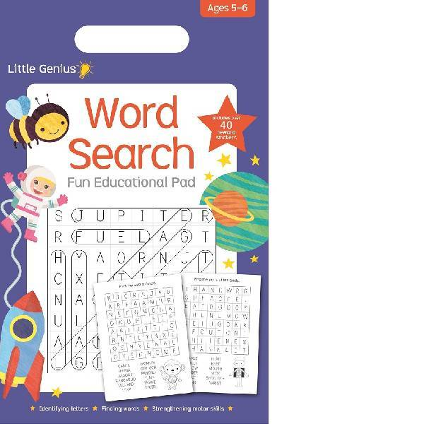 Little Genius Wordsearch Pad