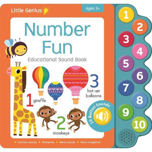 Little Genius Numbers Sound Book