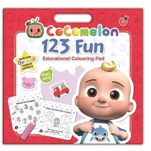 Cocomelon 123 Colouring Pad