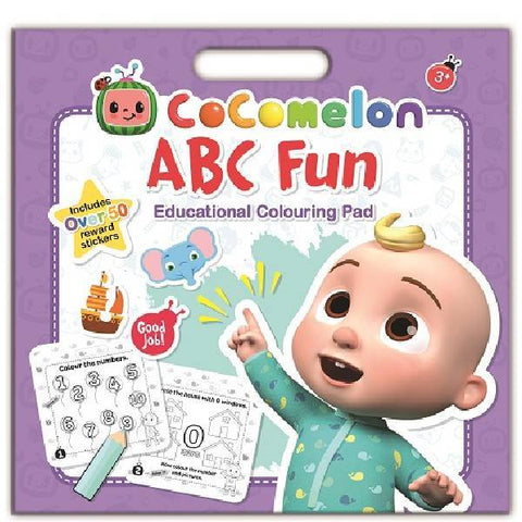 Cocomelon ABC Colouring Pad