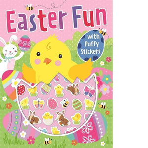 Easter Fun Puffy Sticker Activity Book