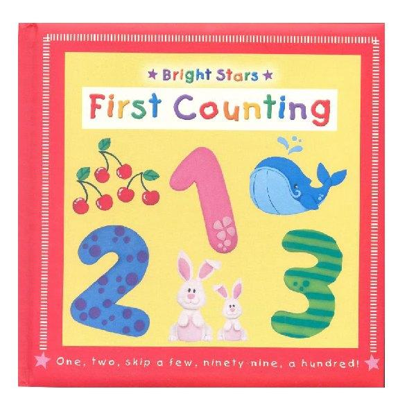 Bright Stars First Counting Board Book