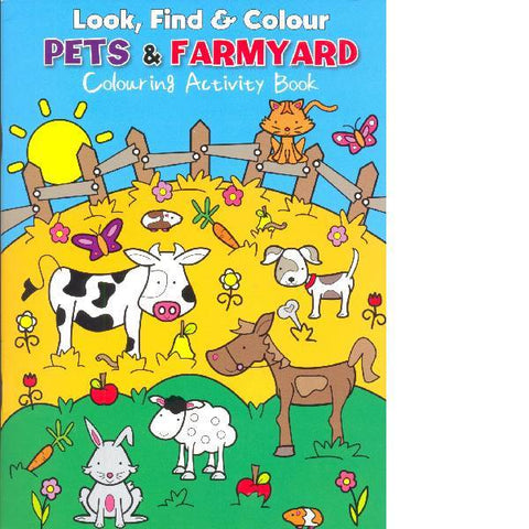 Look Find Colour Pets & Farmyard Colour
