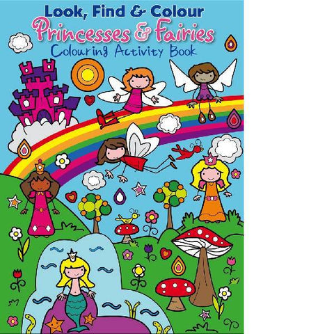 Look Find Colour Princess & Fairies