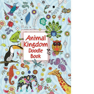 Doodle Animal Kingdom Colouring