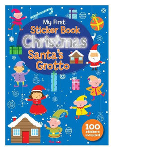 My First 100 Stickers Santas Grotto