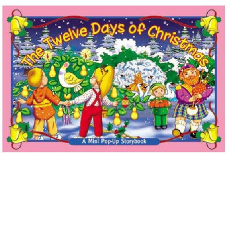 Mini Pop Up Twelve Days of Christmas Board Book