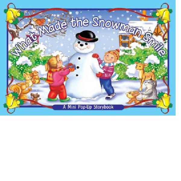 Mini Pop Up What Made Snowman Smile Board Book