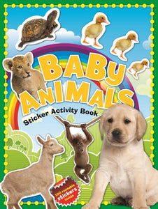 100 Baby Animals Sticker Activity