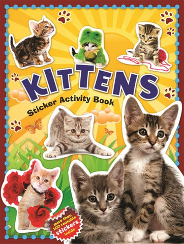 100 Kitten Sticker Activity