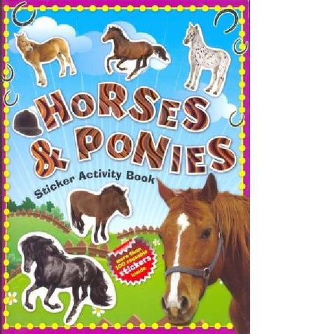 100 Horses & Ponies Sticker Activity Book