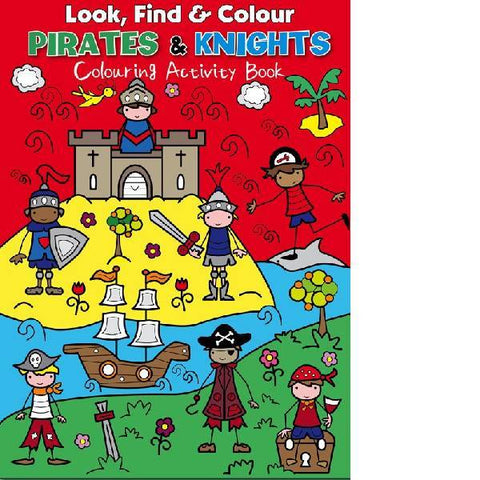 Look Find Colour Pirates & Knights