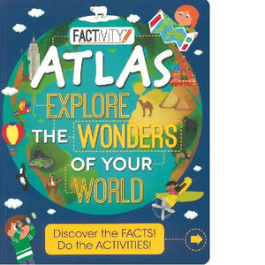 Factivity Atlas Wonders of the World