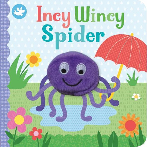 Little Me Finger Puppet Incy Wincy Spider
