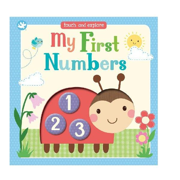 Little Me My First Numbers Touch and Explore Board