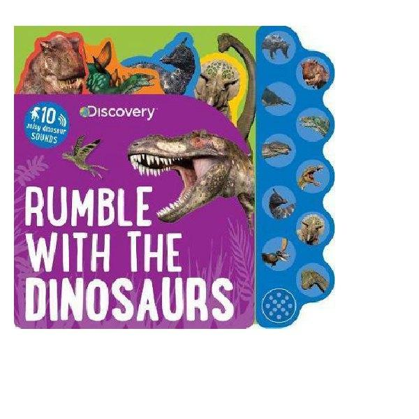 Rumble with the Dinosaur Sound Book