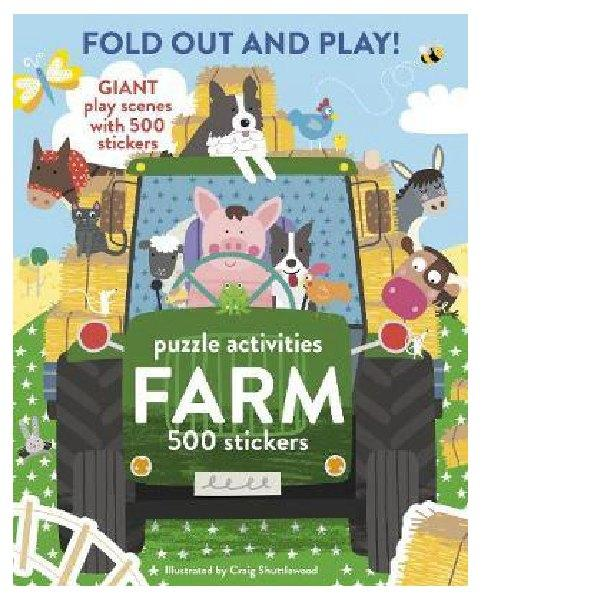 Farm Fold Out & Play Puzzle Activities