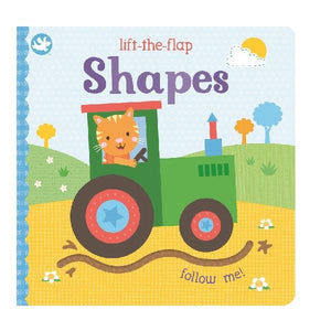 Little Me Lift the Flap Shapes Board Book