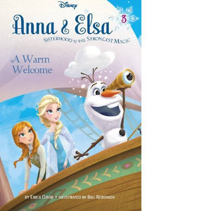 Anna & Elsa A Warm Welcome