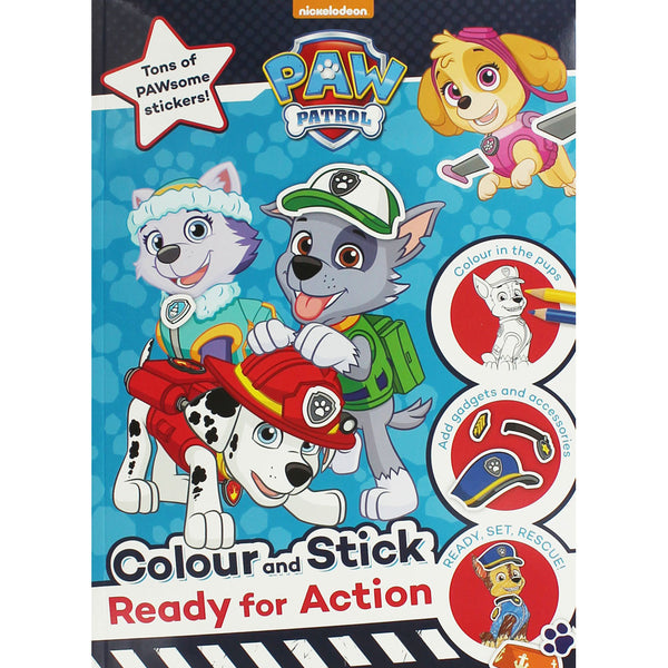 PAW Patrol Colour and Stick  Dress up