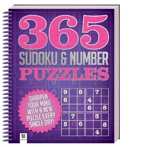 365 Sudoku & Number Puzzles